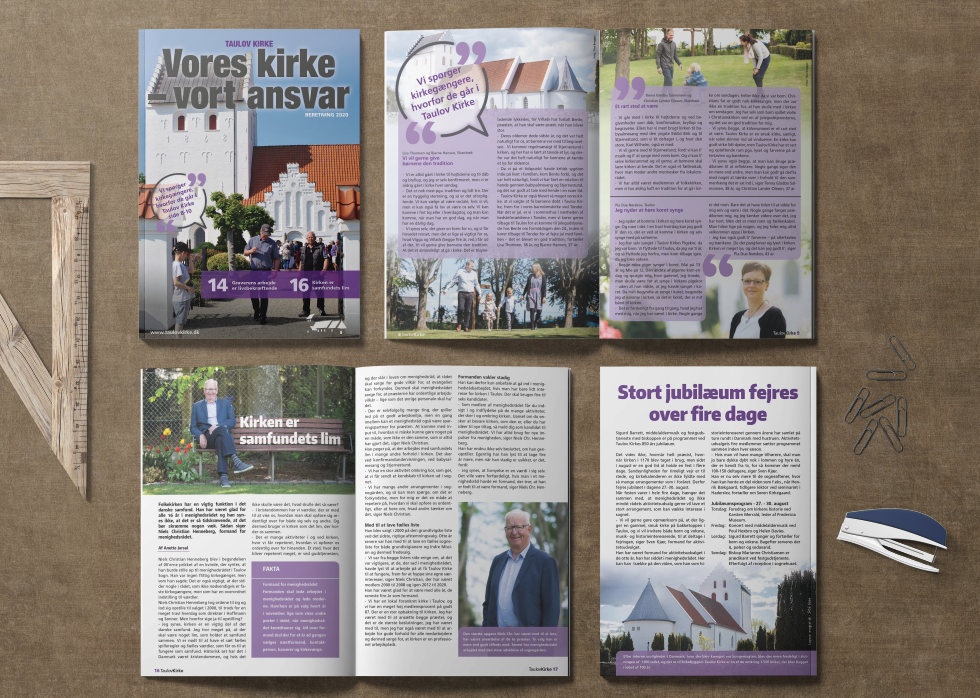 Taulov Kirke -Kirkeblad